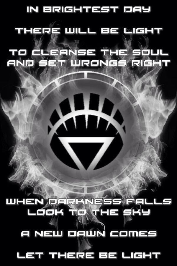 Firey White Lantern Chamber and oath by KalEl7 on ...