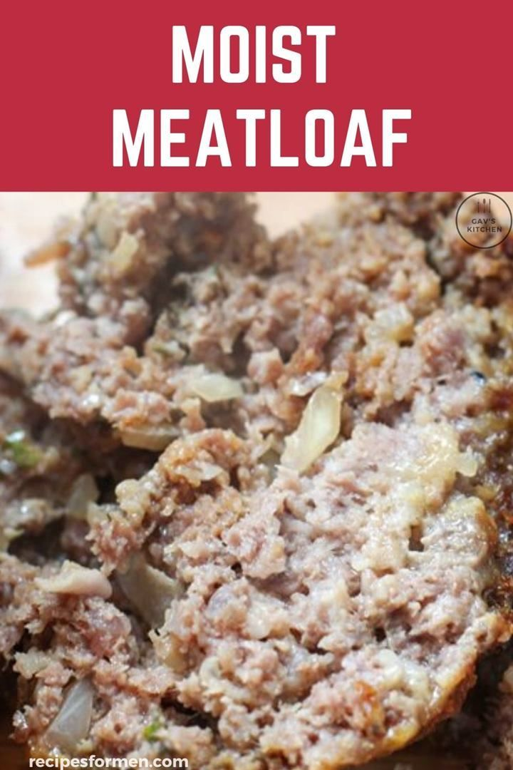 Moist Meatloaf Recipe Never Cook Dried Out Meatloaf Again Moist Meatloaf Recipes Moist Meatloaf Meatloaf Recipes