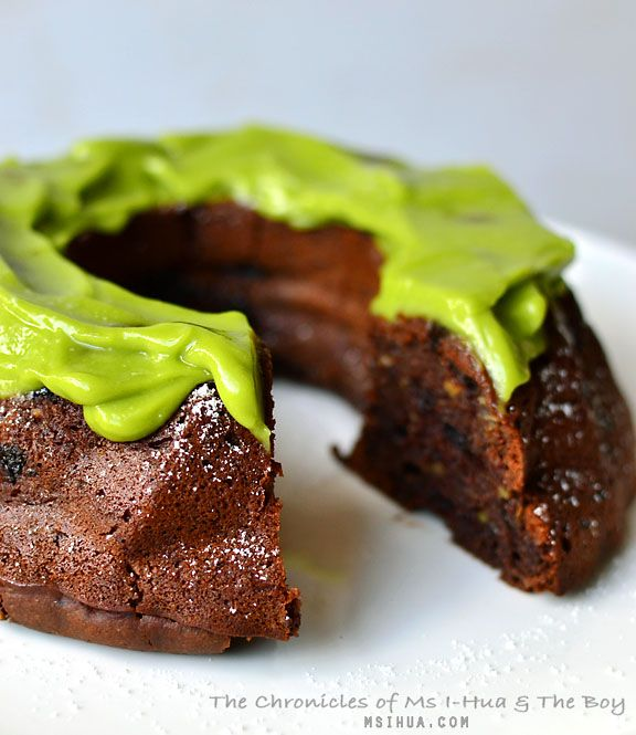 Almost Vegan Chocolate Avocado Cake | Baking with Ms I-Hua & The Boy ...