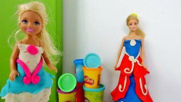 Одевалки #Барби  http://video-kid.com/20642-odevalki-barbi.html  #Барби и Штеффи собираются на бал
