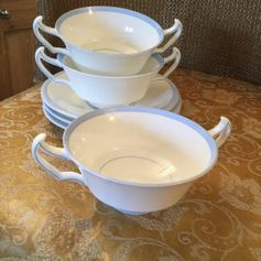 Used Soup Bowl w/Saucer x 3 in SG14 Hertford for £ 4,00 – Shpock