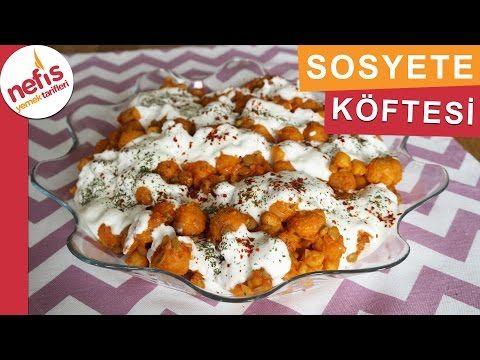 Sosyete Köftesi Tarifi - Bulgur Köftesi - Nefis Yemek Tarifleri - YouTube