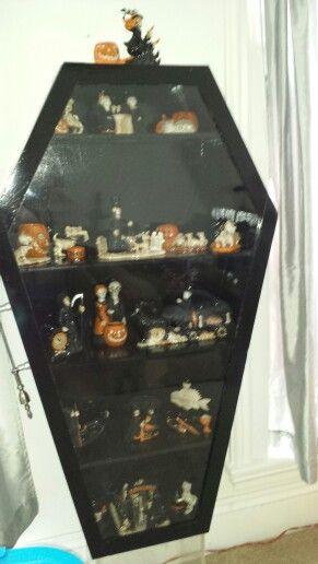 Boney bunch casket display cabinet