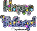 Its Friday Clip Art | Friday Images, Graphics, Comments and Pictures - Myspace, Friendster ...