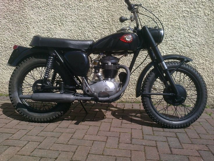 BSA B40 1961 Classic Bike Matching Numbers Tax Exempt. | eBay