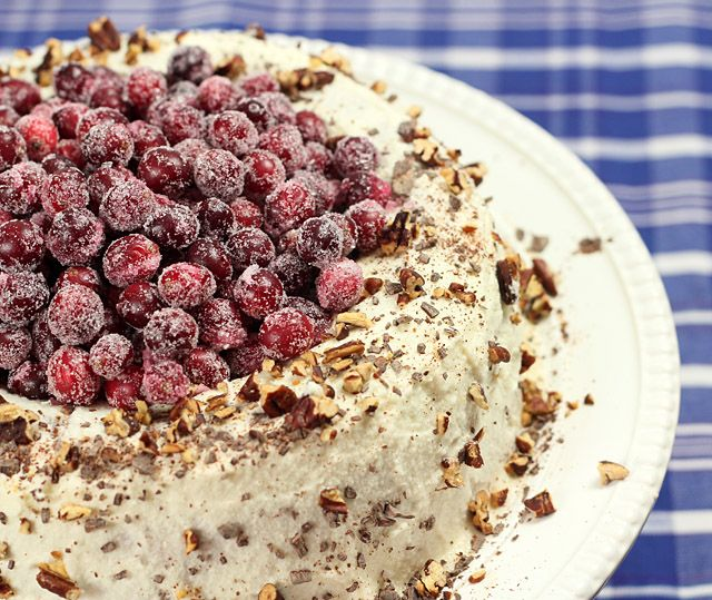 Chocolate Cranberry Cake With Chocolate Icing Recipes — Dishmaps
