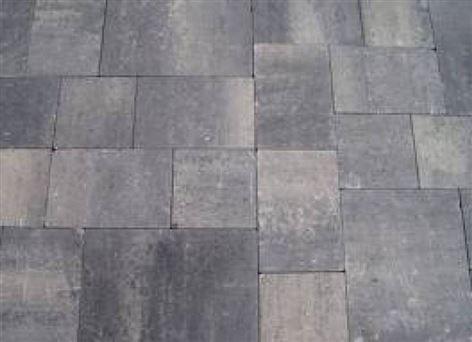 Abbeystone wildverband 5 cm getrommeld grijs zwart kopen? Ruime keuze betonsteen.