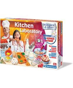 Clementoni Kitchen Laboratory Kit.
