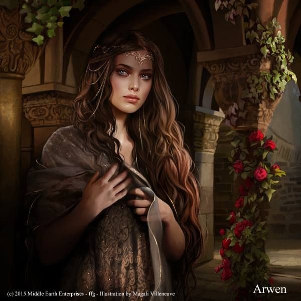 """Arwen """" The Lord of The Rings"""" by Magali Villeneuve"""