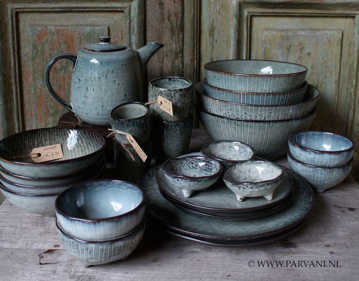 Parvani   Servies-grijs-groen-Broste-Scandinavisch
