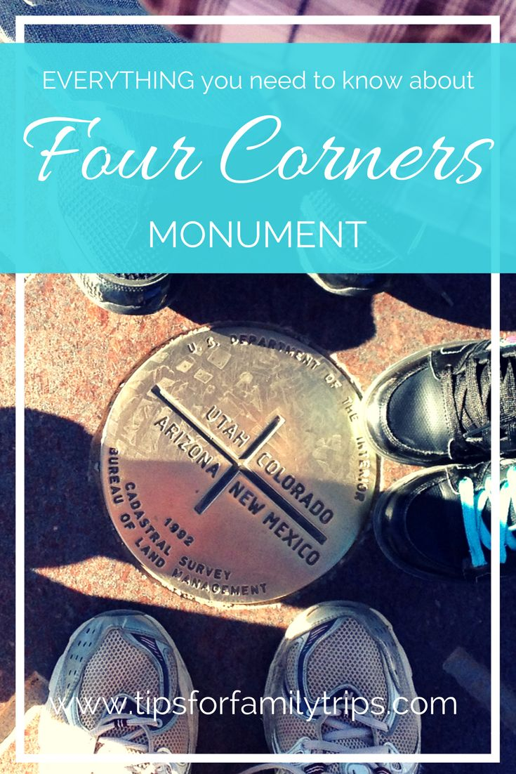 Everything you need to know about Four Corners Monument in the Navajo Nation | tipsforfamilytrips.com | Utah | Arizona | Colorado | New Mexico