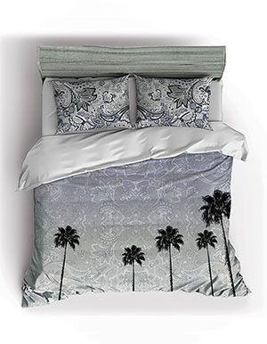 Back To Cali Twin Comforter Set Black