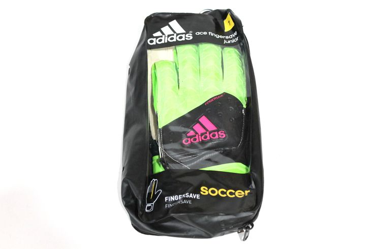 Adidas Junior Ace Finger Save Green Soccer Goalie Keeper Gloves for just $23.99  #shox #nikerunning… #shoxsuperfly #hypervenom #nikesoccer… #20% #Kid39;s #Women39 #nikesoccer #soccercleats