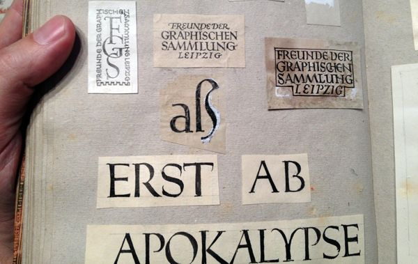Sketches by Jan Tschichold by Fonts.info Type Foundry, via Behance