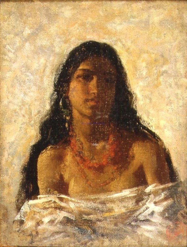 gypsy art pictures images photos | ... Gypsy Girl. 1870 » Mariano Fortuny y Marsal. A Gypsy Girl. 1870