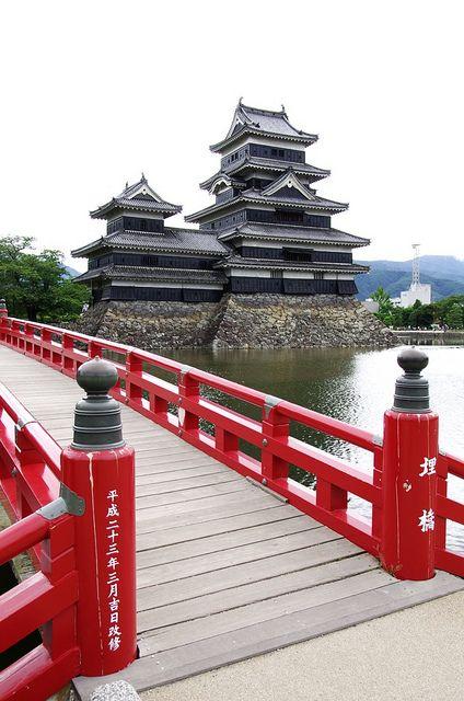 松本城天守閣 Matsumoto Castle, Nagano, Japan! @ayeeeitsari  ...does this have anything to do with your heritage? Just wondering.