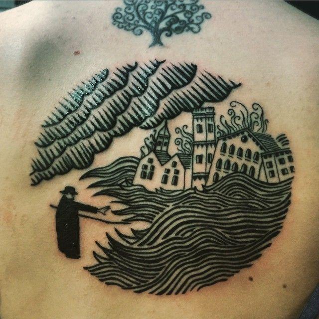 radiohead tatuaje