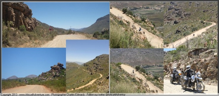 Cederberg passes and #twisty #dirt roads perfect for #motorcycle #adventure
