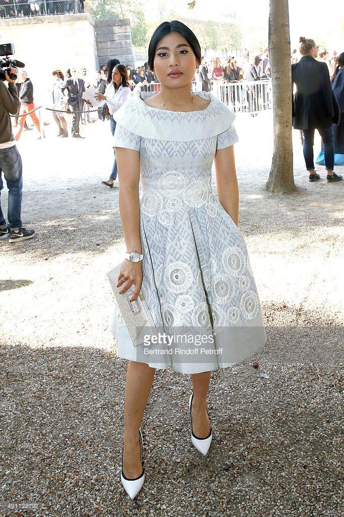 Princess of Thailand Sirivannavari Nariratana attends the Elie Saab show as part of the Paris Fashion Week Womenswear Spring/Summer 2016 on October 3, 2015 in Paris, France.