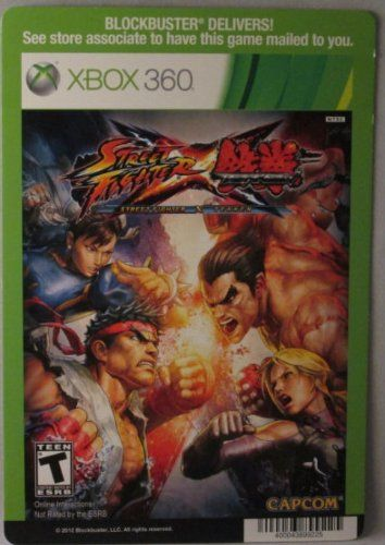 BACKER CARD FOR: STREET FIGHTER X TEKKEN - XBOX 360 - (Not The Video Game) @ niftywarehouse.com #NiftyWarehouse #StreetFighter #VideoGames #Gaming