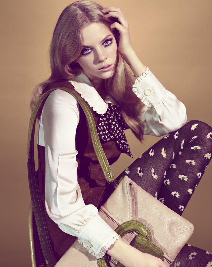 Orla Kiely campaign shoot AW 09 Photography by Catherine Servel