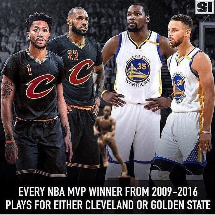 #Stats regram @hoopsnation  Welcome to the NBA in 2017.  @sportsillustrated  Tags: #Cavs #Warriors #NBA http://ift.tt/2uuE7hg