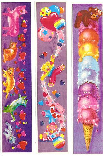 80's lisa frank stickers