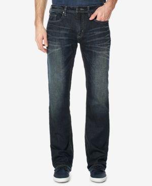 Buffalo David Bitton Men's Driven-x Indigo Straight Fit Jeans - Blue