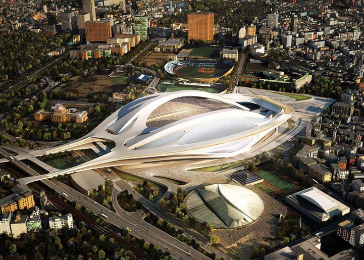 Zaha Hadid's 2020 Summer Olympic Stadium for Japan - My Modern Metropolis