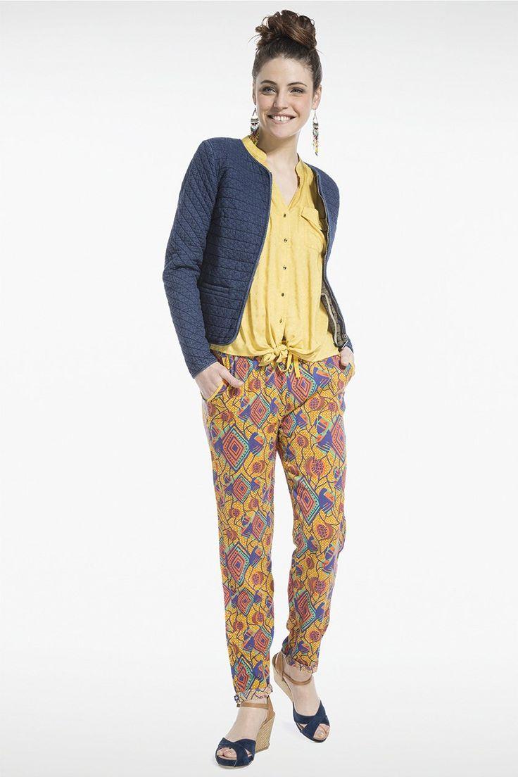 veste femme matelasse bonobo jeans style original et color femme non conventionnel - Veste Colore Femme