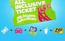Find the best deals on tickets to Michigan's Adventure. Buy tickets online and save on admission to the park!