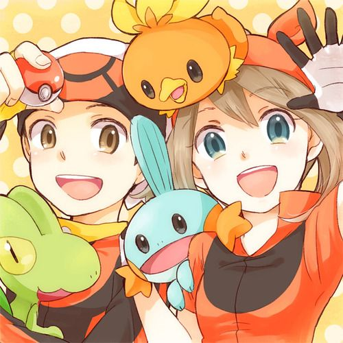 pokemon trainer brendan - Google Search