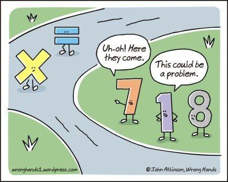 A math joke.