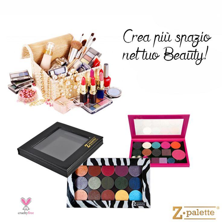 Utilizza le #ZPalette per riorganizzare il tuo #makeup http://www.vanitylovers.com/brands/zpalette.html?utm_source=pinterest.com&utm_medium=post&utm_content=zpalette&utm_campaign=pin-vanity