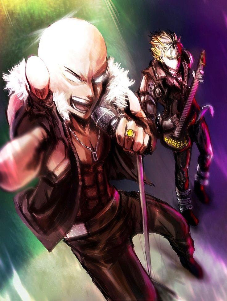 - One Punch Man - Saitama and Genos