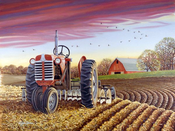 JohnSloaneArt.com - John Sloane - Gallery - Tractors and Farm Implements