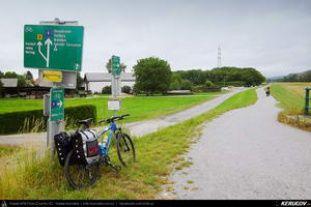 bikemap.net EuroVelo 6 / Viena - Bratislava / Austria - Slovacia  Viena - Hainburg - Wolfsthal - Bratislava EuroVelo 6 - 1