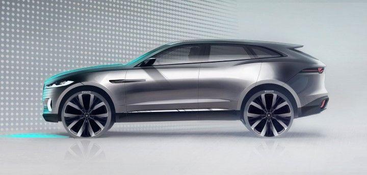 jaguar suv sketches | At the recent Frankfurt Motor Show Jaguar has presented the C-X17 ...