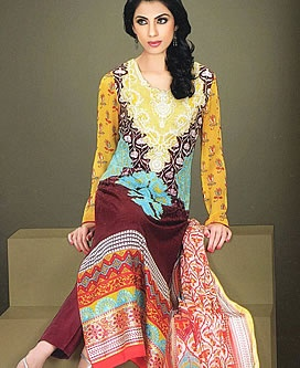 Lala Textiles Launched its Kesa Volume 2 Lawn Collection 2013 For Women Melbourne Victoria AUS Lawn Dresses