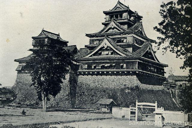 熊本城 Kumamoto Castle in 1873