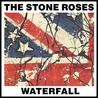 The Stone Roses 'Waterfall' Record Cover
