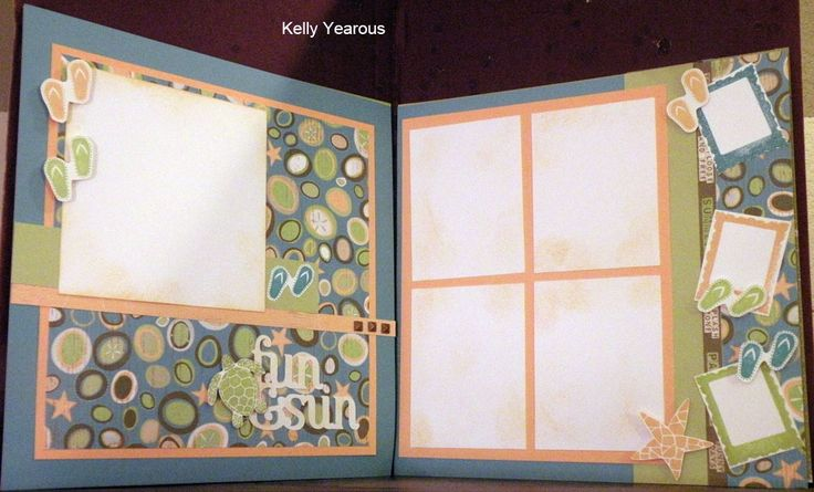layout by Kelly Yearous using CTMH Footloose paper