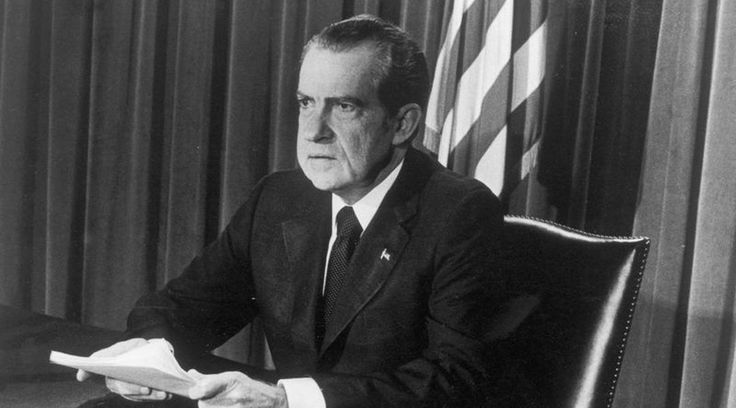 "Nixon official: ""Nixon campaign in 1968, and the Nixon White House after that, had two enemies: the antiwar left and black people...couldn't make it illegal to be either against the war or black, but by getting the public to associate the hippies with marijuana and blacks with heroin, and then criminalizing both heavily....We could arrest their leaders, raid their homes, break up their meetings, and vilify them night after night on the evening news"" (John Ehrlichman)."