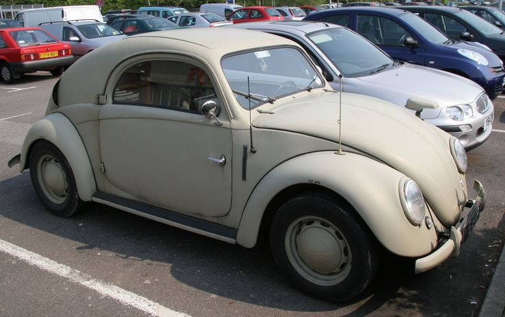 1939 VW Steyr Photographed In A Supermarket Car Park In UK. Apparently It Is The Only Existing Example Of That Car In The World And The Owner's Daily Transport.......