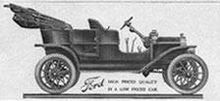 1908: Model T is introduced. 15 million are produced through 1927.