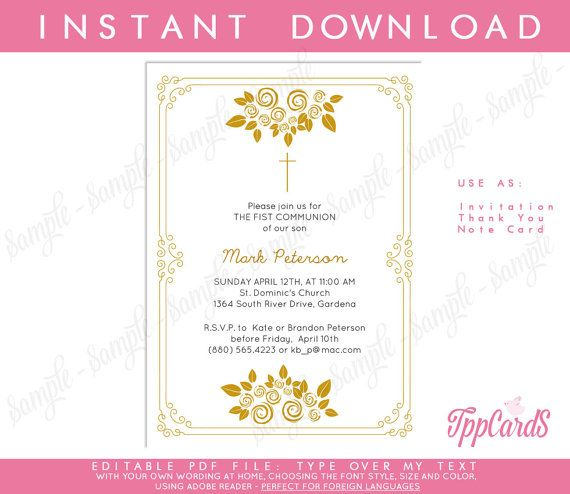 16 best Priest Appreciation  Ministry Appreciation Cards images on - invitation templates holy communion