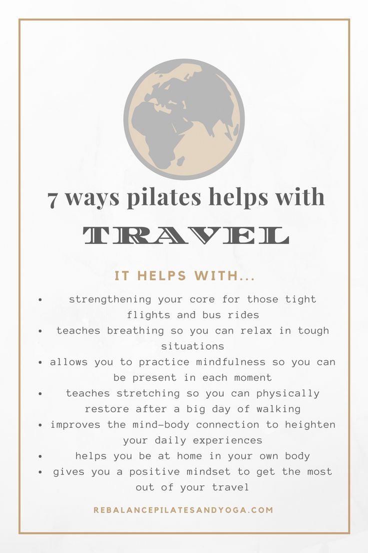 How Pilates Improves Travel