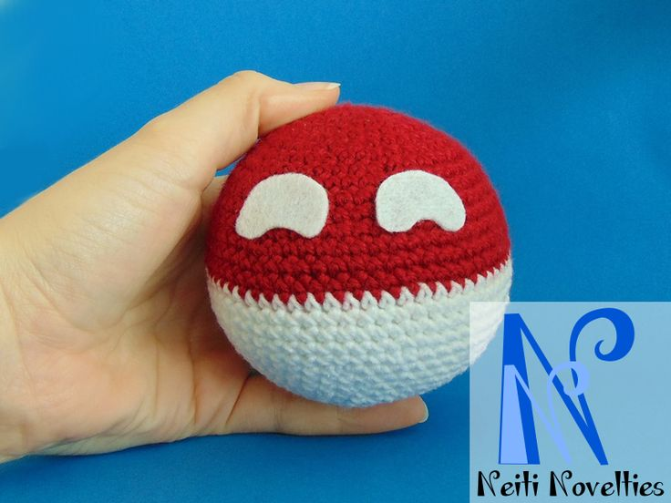 Crochet Polandball