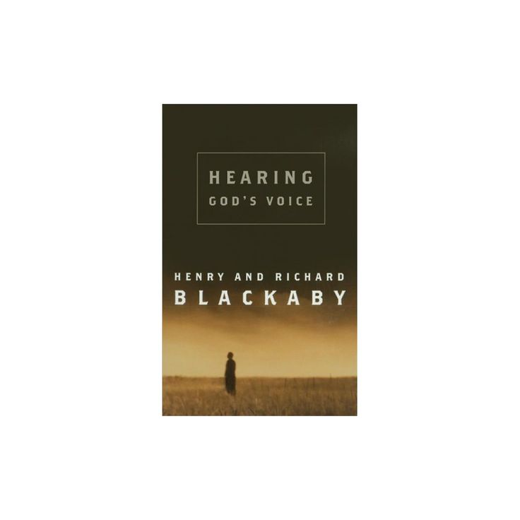 Hearing God's Voice (Abridged) (CD/Spoken Word) (Henry T. Blackaby & Richard Blackaby)