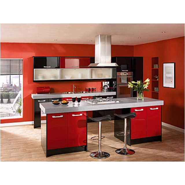 Red Kitchen Ideas 18 best kitchen design ideas images on pinterest | red kitchen